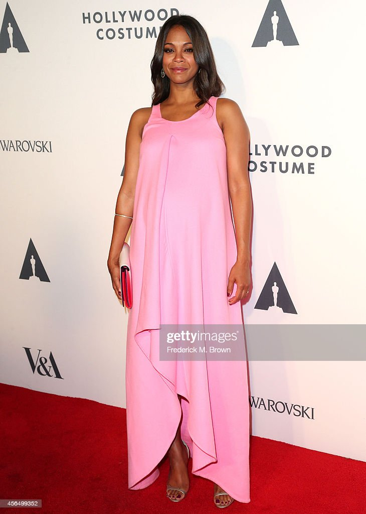 Actress Zoe Saldana attends The Academy of Motion Picture Arts and Sciencesu0027 Hollywood Costume Opening  sc 1 st  Getty Images & The Academy Of Motion Picture Arts And Sciencesu0027 Hollywood Costume ...