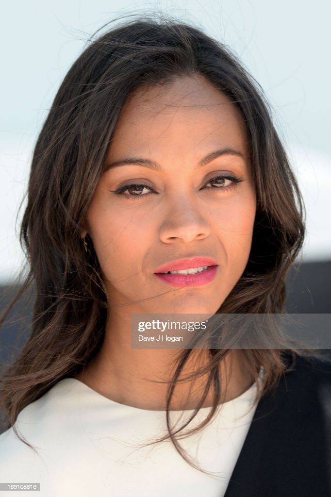 Actress Zoe Saldana attends the photocall for 'Blood Ties' at The 66th Annual Cannes Film Festival on May 20, 2013 in Cannes, France.
