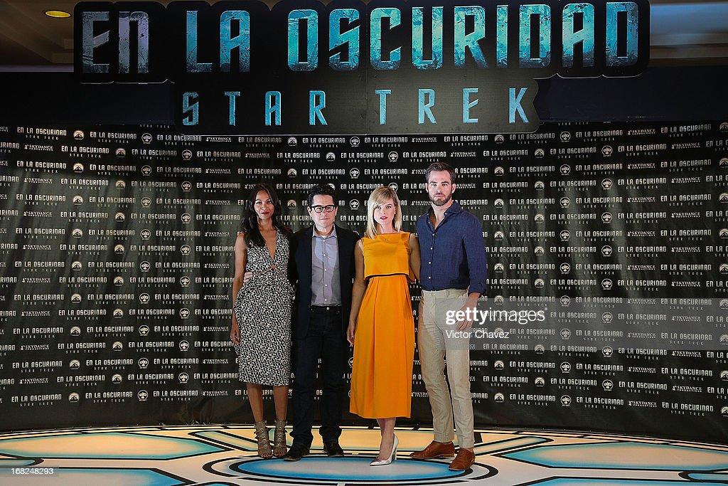 """Star Trek Into Darkness"" Mexico City - Photocall : News Photo"