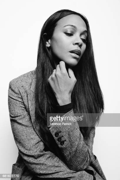 Actress Zoe Saldana is photographed for Variety on December 12 2016 in Los Angeles California