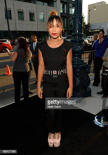 Actress Zoe Soul attends the Warner Bros Pictures' premiere of Prisoners at the Academy of Motion Picture Arts and Sciences on September 12 2013 in...