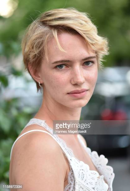 Actress Zoe Valks attends the ARD Degeto Reception during the Munich Film Festival 2019 at Kaisergarten on June 28 2019 in Munich Germany