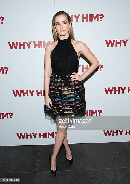 Actress Zoey Deutch attends a special screening of Why Him at iPic Theater on December 11 2016 in New York City
