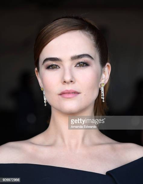 Actress Zoey Deutch attends the 2018 Film Independent Spirit Awards on March 3 2018 in Santa Monica California
