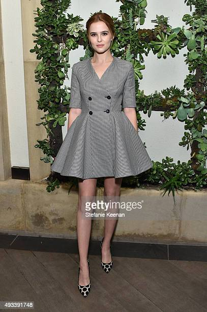 Actress Zoey Deutch attends the 22nd Annual ELLE Women in Hollywood Awards presented by Calvin Klein Collection L'Oréal Paris and David Yurman at the...