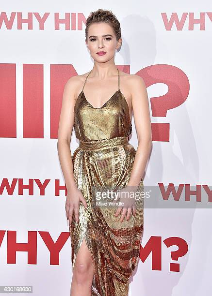 Actress Zoey Deutch attends the premiere of 20th Century Fox's Why Him at Regency Bruin Theater on December 17 2016 in Westwood California
