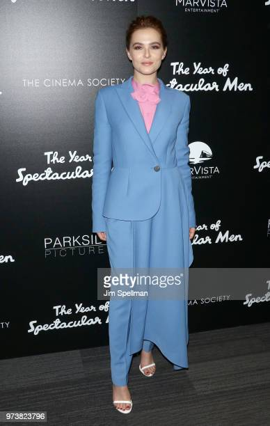 Actress Zoey Deutch attends the screening of The Year Of Spectacular Men hosted by MarVista Entertainment and Parkside Pictures with The Cinema...