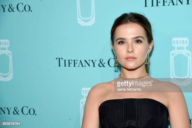 Actress Zoey Deutch attends the Tiffany Co Fragrance launch event on September 6 2017 in New York City