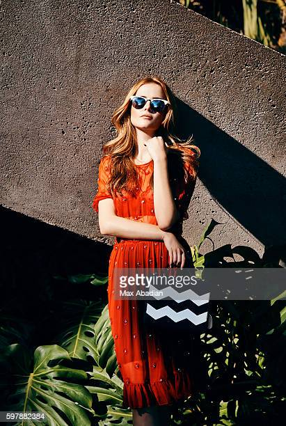 Actress Zoey Deutch is photographed for Cosmopolitan Magazine on October 11, 2015 in Los Angeles, California. PUBLISHED IMAGE.