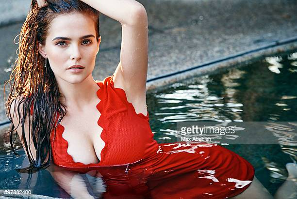 Actress Zoey Deutch is photographed for Cosmopolitan Magazine on October 11 2015 in Los Angeles California PUBLISHED IMAGE