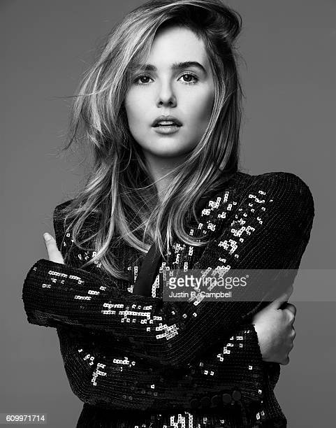 Actress Zoey Deutch is photographed for Just Jared on March 19 2016 in Los Angeles California