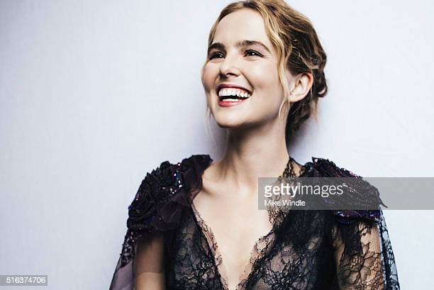 Actress Zoey Deutch is photographed for Portrait Session on March 15 2016 in Austin Texas