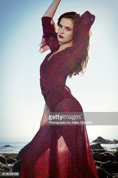 Actress Zoey Deutch is photographed for The Untitled Magazine on January 15 2014 in Los Angeles California PUBLISHED IMAGE CREDIT MUST READ Indira...