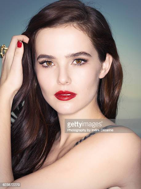 Actress Zoey Deutch is photographed for The Untitled Magazine on January 15 2014 in Los Angeles California CREDIT MUST READ Indira Cesarine/The...