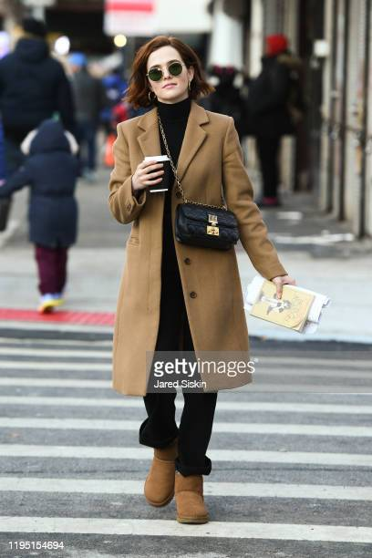 Actress Zoey Deutch is seen on December 20, 2019 in New York City.