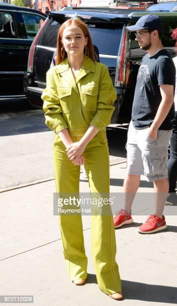Actress Zoey Deutch is seen walking in Soho on June 12 2018 in New York City