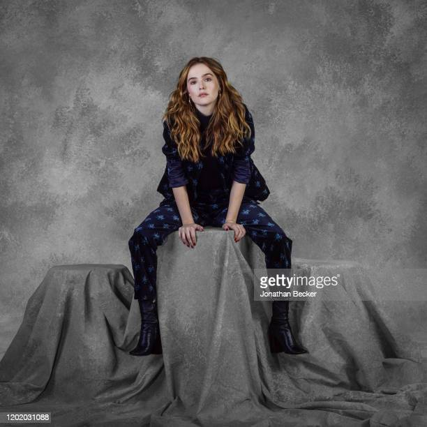 Actress Zoey Deutch poses for a portrait at the Savannah Film Festival on October 28, 2017 at Savannah College of Art and Design in Savannah, Georgia.