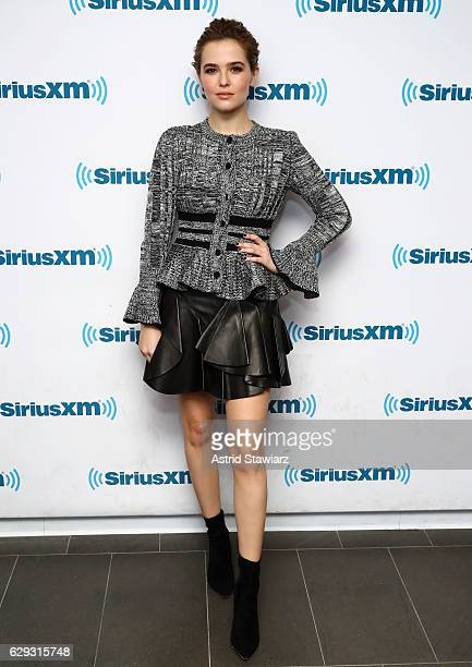 Actress Zoey Deutch visits the SiriusXM Studio on December 12 2016 in New York City