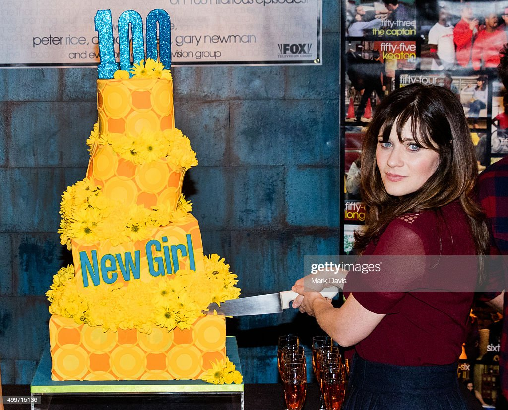 "FOX's ""New Girl"" 100th Episode Cake-Cutting"