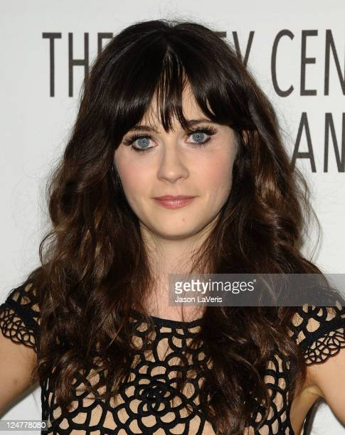 Actress Zooey Deschanel attends the FOX fall preview party at The Paley Center for Media on September 12 2011 in Beverly Hills California