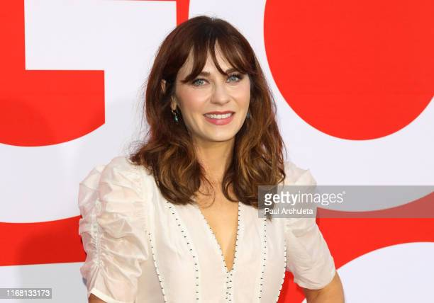 """Actress Zooey Deschanel attends the premiere of Universal Pictures' """"Good Boys"""" at The Regency Village Theatre on August 14, 2019 in Westwood,..."""