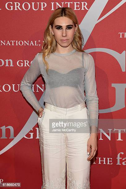 Actress Zosia Mamet attends 2016 Fashion Group International Night Of Stars Gala at Cipriani Wall Street on October 27, 2016 in New York City.