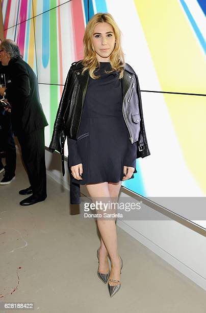 Actress Zosia Mamet attends Dior Lady Art Los Angeles Popup Boutique Opening Event on December 6 2016 in Beverly Hills California