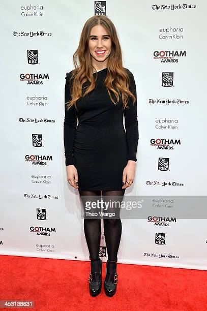 Actress Zosia Mamet attends IFP's 23nd Annual Gotham Independent Film Awards at Cipriani Wall Street on December 2, 2013 in New York City.