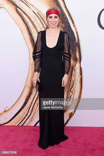 Actress Zosia Mamet attends the 2016 CFDA Fashion Awards at the Hammerstein Ballroom on June 6 2016 in New York City