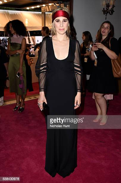 Actress Zosia Mamet attends the 2016 CFDA Fashion Awards at the Hammerstein Ballroom on June 6, 2016 in New York City.