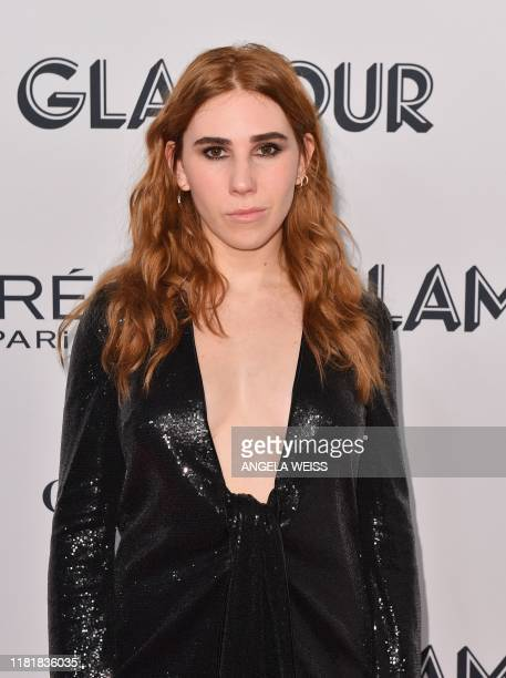 US actress Zosia Mamet attends the 2019 Glamour Women Of The Year Awards at Alice Tully Hall Lincoln Center on November 11 2019 in New York City