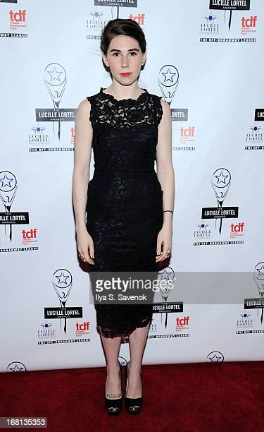 Actress Zosia Mamet attends the 28th Annual Lucille Lortel Awards at NYU Skirball Center on May 5 2013 in New York City