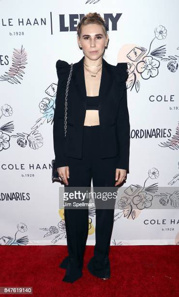 Actress Zosia Mamet attends The 2nd Anniversary Party for Lenny in partnership with Cole Haan at The Jane Hotel on September 15 2017 in New York City