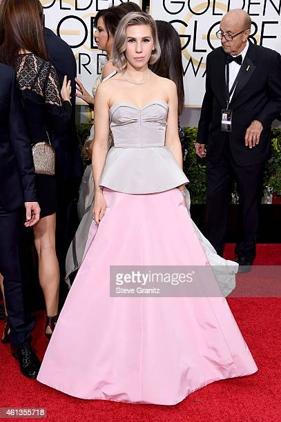 Actress Zosia Mamet attends the 72nd Annual Golden Globe Awards at The Beverly Hilton Hotel on January 11 2015 in Beverly Hills California