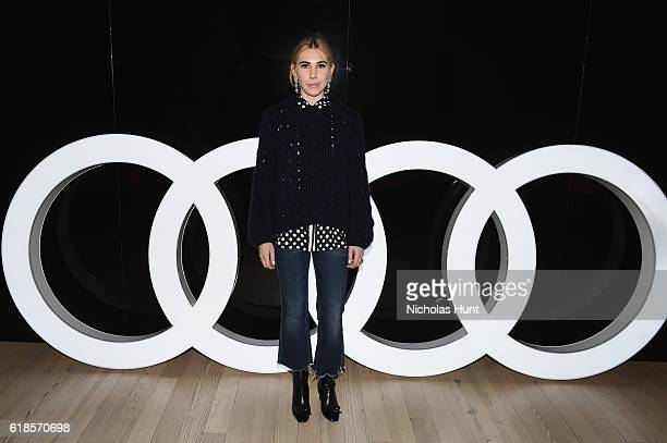 Actress Zosia Mamet attends the Audi private reception at the Whitney Museum of American Art on October 26 2016 in New York City