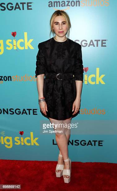 Actress Zosia Mamet attends 'The Big Sick' New York premiere at The Landmark Sunshine Theater on June 20 2017 in New York City
