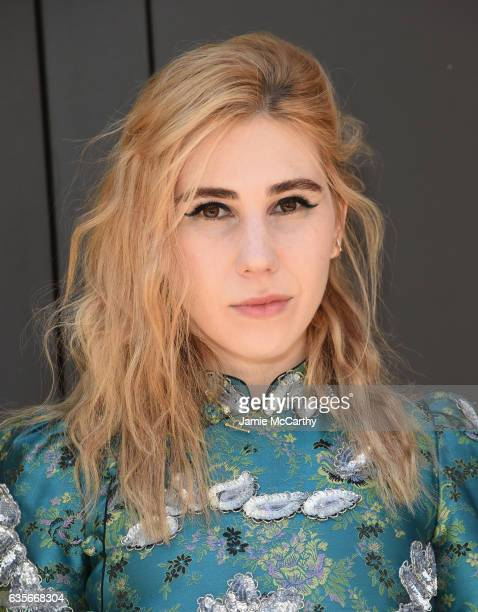 Actress Zosia Mamet attends the Marc Jacobs Fall 2017 Show at Park Avenue Armory on February 16 2017 in New York City