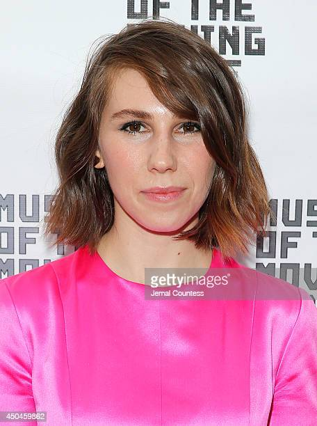 Actress Zosia Mamet attends the Museum Of The Moving Image Honors Richard Plepler & Charlie Rose at Saint Regis Hotel on June 11, 2014 in New York...