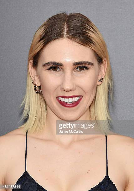 "Actress Zosia Mamet attends the New York premiere of ""Southpaw"" at AMC Loews Lincoln Square on July 20, 2015 in New York City."