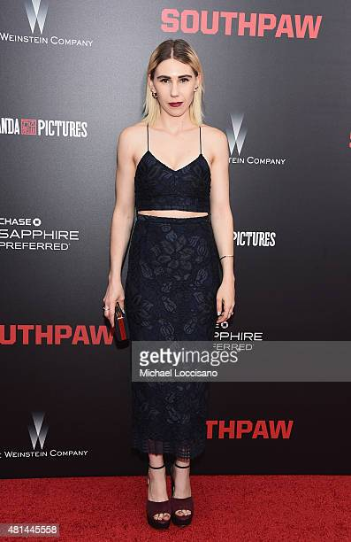 Actress Zosia Mamet attends the New York premiere of 'Southpaw' for THE WRAP at AMC Loews Lincoln Square on July 20, 2015 in New York City.