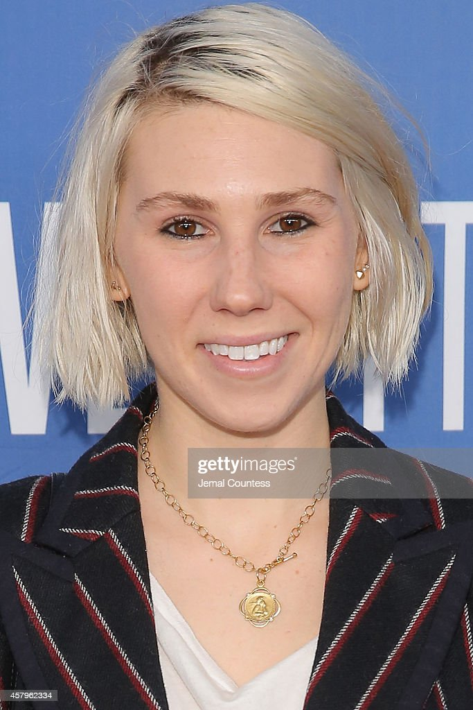 Actress Zosia Mamet attends the 'Olive Kitteridge' New York Premiere at SVA Theater on October 27, 2014 in New York City.