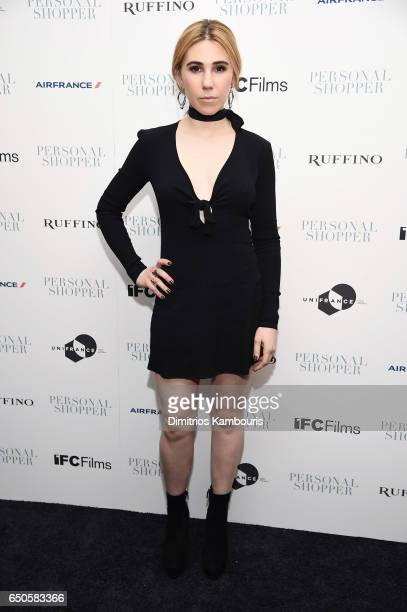Actress Zosia Mamet attends the 'Personal Shopper' premiere at Metrograph on March 9 2017 in New York City