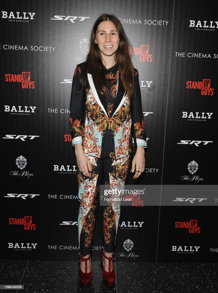 Actress Zosia Mamet attends the premiere of 'Stand Up Guys' hosted by The Cinema Society with Chrysler and Bally at MOMA on December 9, 2012 in New York City.