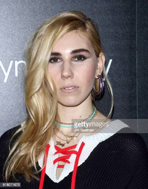 Actress Zosia Mamet attends the screening of Marvel Studios' 'Black Panther' hosted by The Cinema Society with Ravage Wines and Synchrony at Museum...