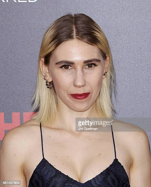 "Actress Zosia Mamet attends the ""Southpaw"" New York premiere at AMC Loews Lincoln Square on July 20, 2015 in New York City."