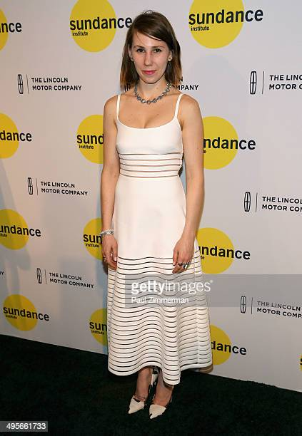 Actress Zosia Mamet attends the Sundance Institute New York Benefit 2014 at Stage 37 on June 4 2014 in New York City