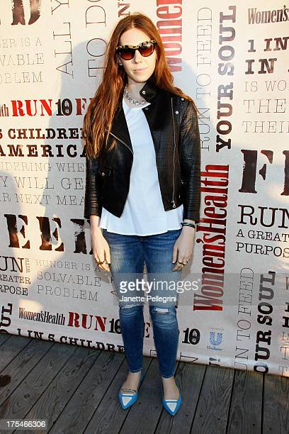 """Actress Zosia Mamet attends Women's Health Hamptons """"Party Under the Stars"""" for RUN10 FEED10 at Bridgehampton Tennis and Surf Club on August 3, 2013..."""