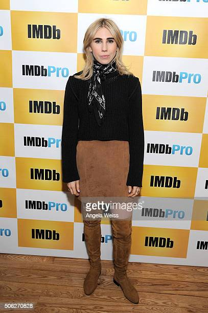 Actress Zosia Mamet in The IMDb Studio In Park City Utah Day One Park City on January 22 2016 in Park City Utah