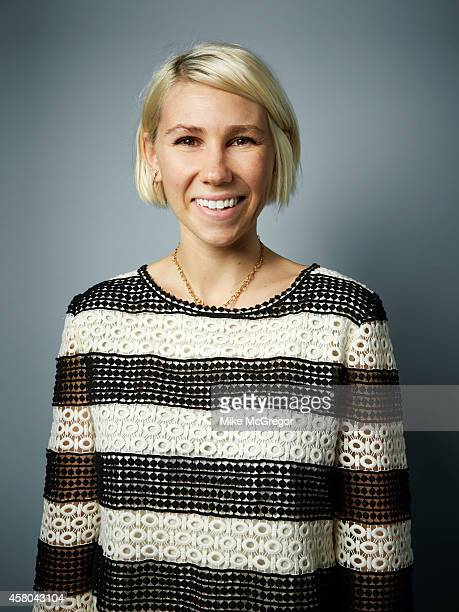 Actress Zosia Mamet is photographed for Self Assignment on September 11 2014 in New York City