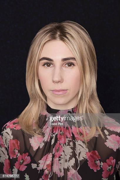 Actress Zosia Mamet is photographed for USA Today on March 1 2016 in New York City